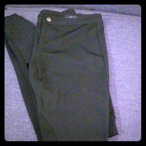 rag & bone black riding pants